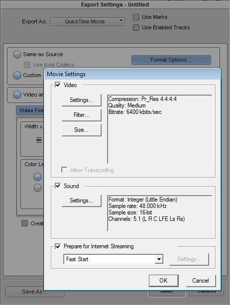 Export to MXF in CS4 Archive - DV Info Net