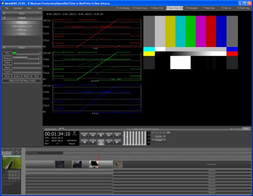 NXS View Waveform RGB