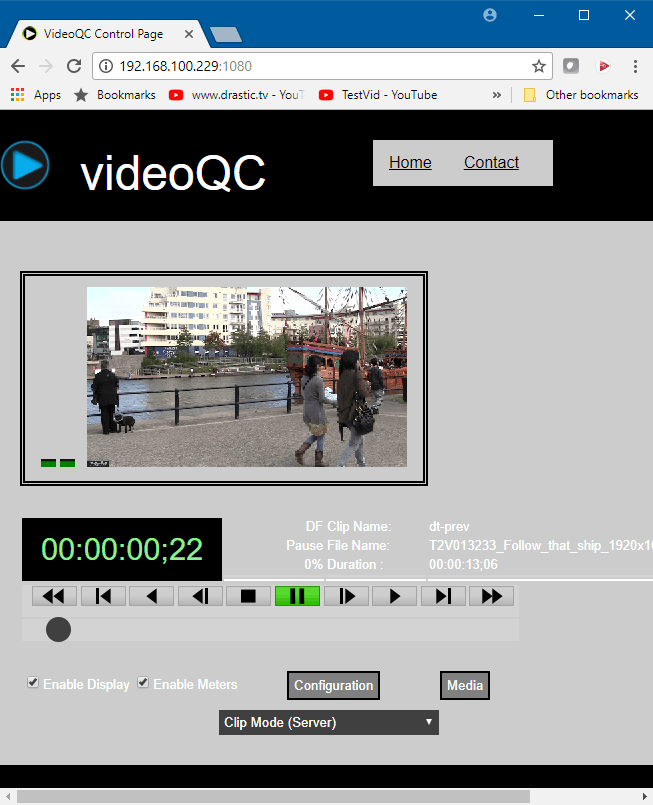 videoQC - Automated and Visual Video QC Tools