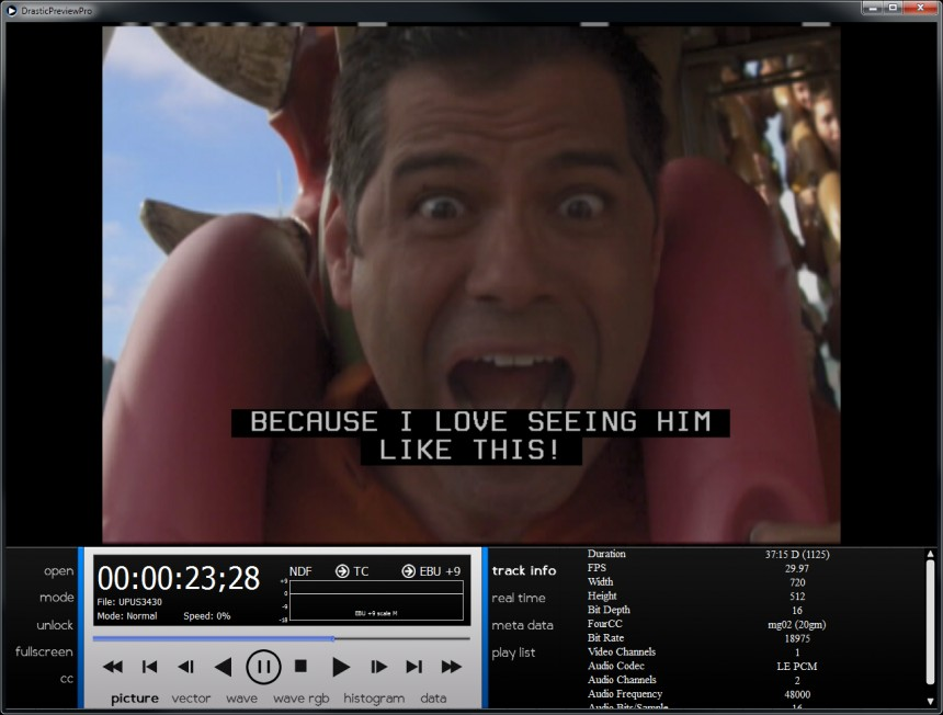 DP Pro - Closed Captions